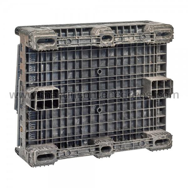 Contenedor plástico gris