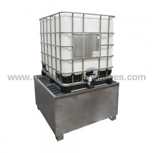 Cubeto de retención para 1 IBC / GRG 1000 litros