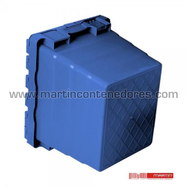 Caja encajable con tapa 400x300x365/350 mm