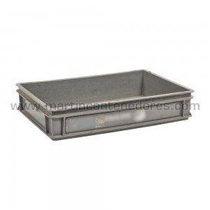 Caja plástica 600x400x115/110 mm