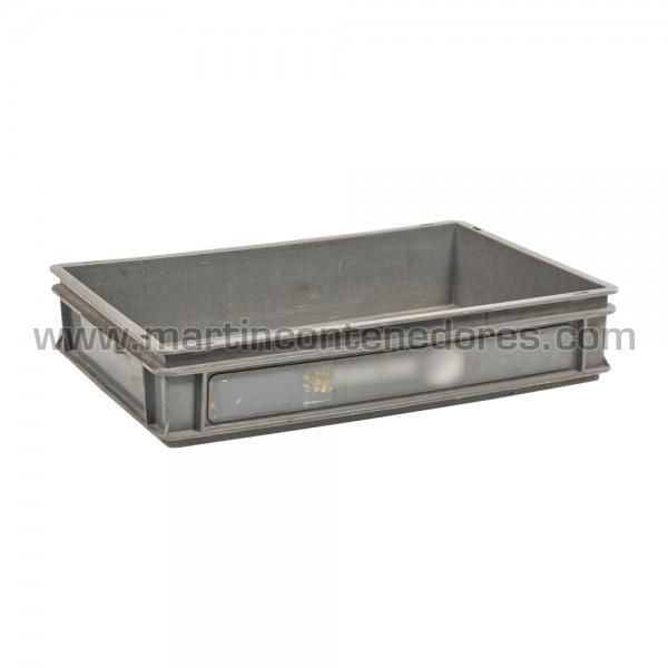 Caixa plástica 600x400x115/110 mm