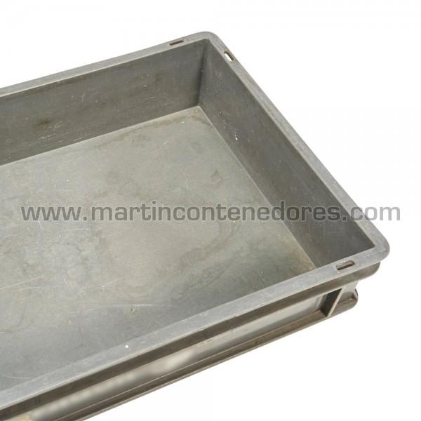 Plastic box 600x400x115/110 mm