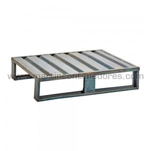 Palete metálico 1000x800x220 mm