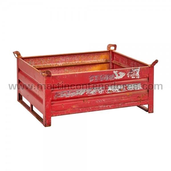 Stacking box steel 1200x1000x500 mm