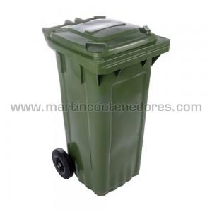 Conteneur pour déchets étanche en pehd vierge