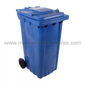 Conteneur pour déchets fabriqué sous norma en-840