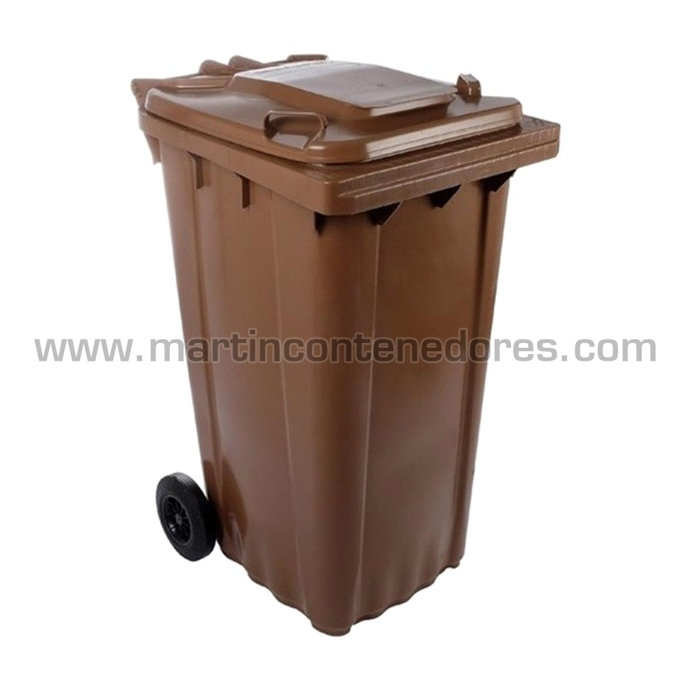 Contenedores para basura marron 96 kg