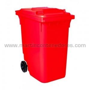 Conteneur pour déchets fabriqué en pehd vierge