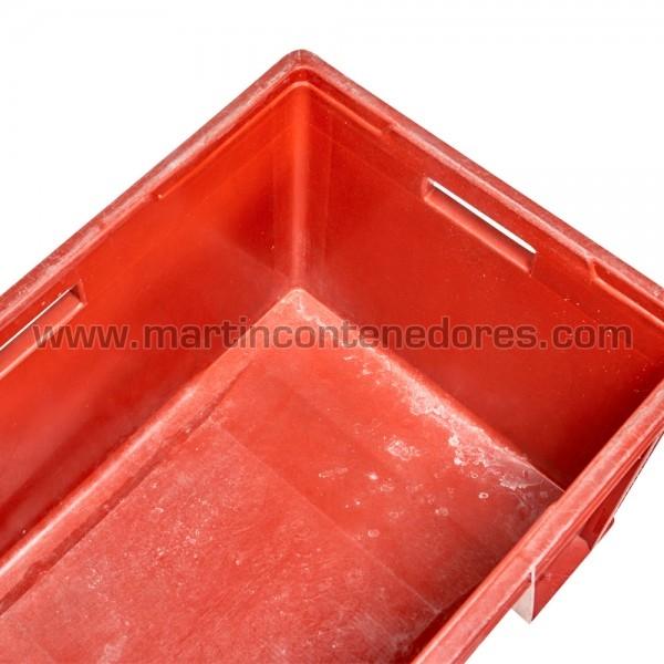 Caja plástica con asa pasante
