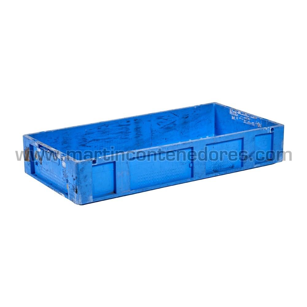 Caja plástica 800x400x140/135 mm