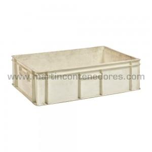 Caja plástica 600x400 mm.