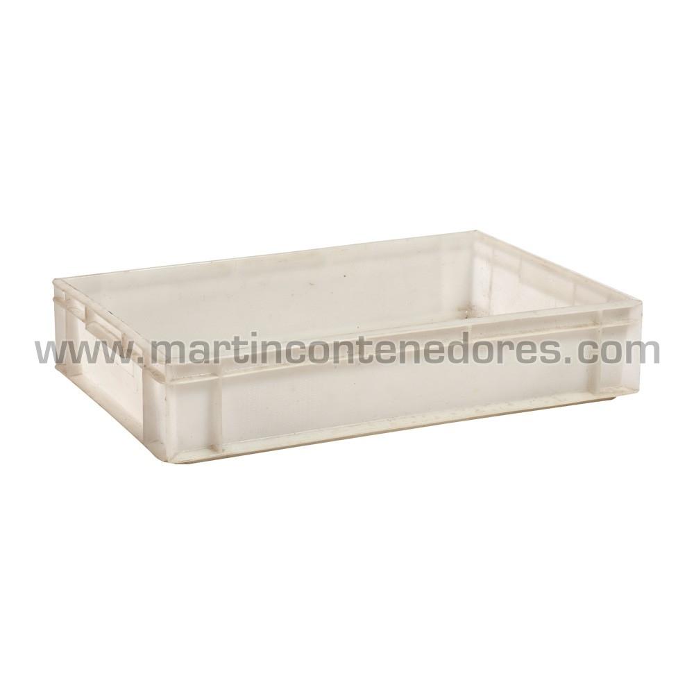 Bac plastique avec poignée fermée