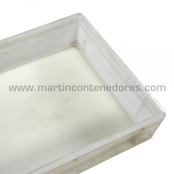 Bac plastique hauteur 120 mm