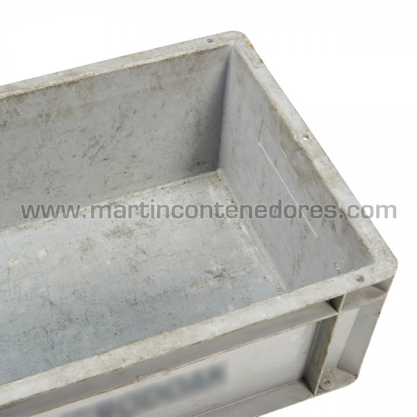 Caja plástica 400x300x175/170 mm