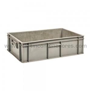 Caja plástica 600x400x180/175 mm