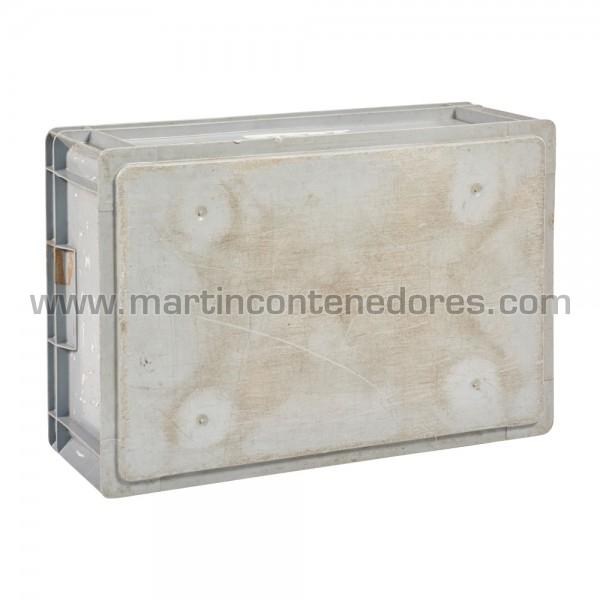 caja plastico apilable
