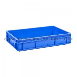 Plastic box 600x400x120/115 mm