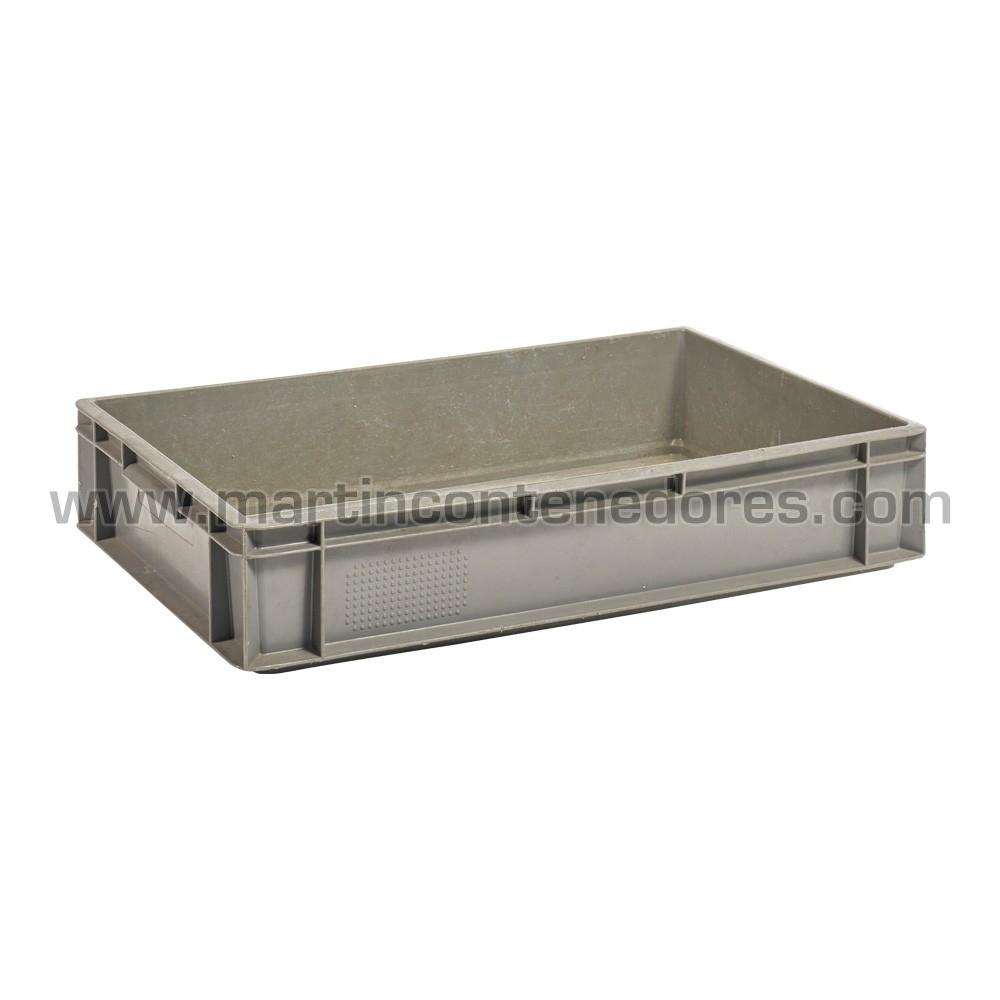 Caja plástica con asa cerrada