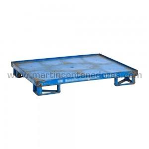 Steel pallet 1200x1000x170 mm
