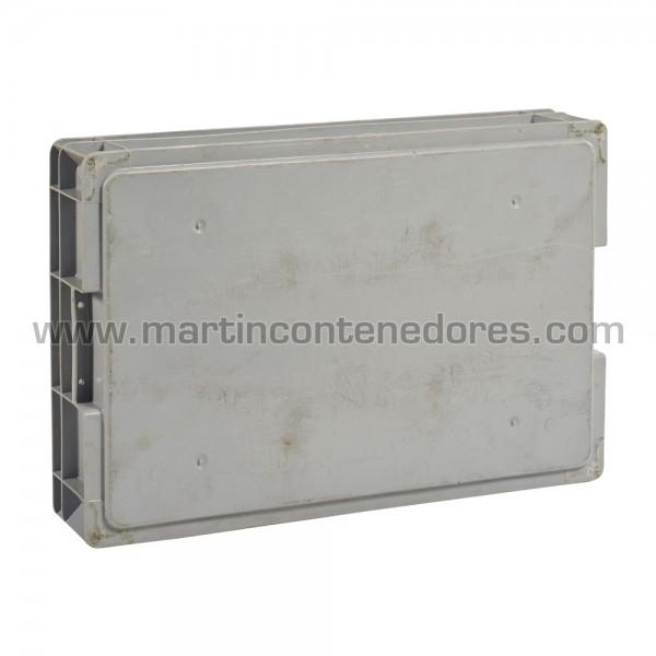 Caja plástica 600x400x120/115 mm