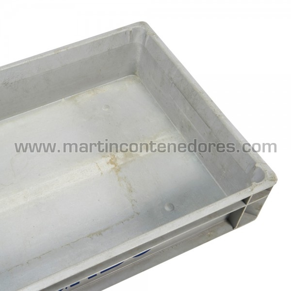Caja plástica para industria