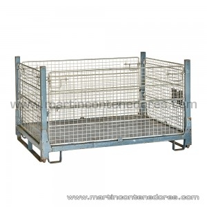 Mesh stillages collapsible 1600x1200x930/700 mm