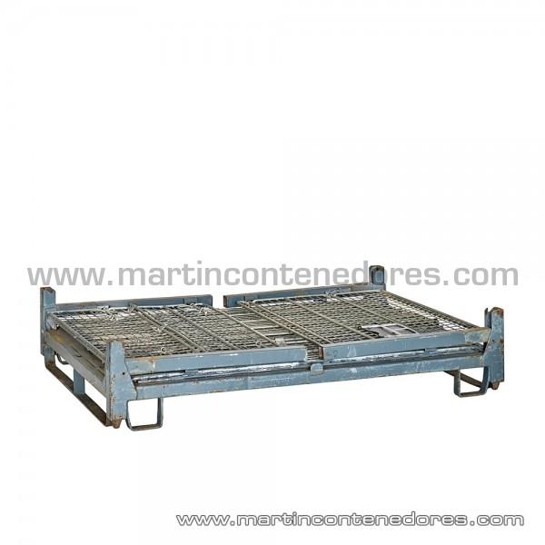 Caisse palette repliable 1600x1200x930/700 mm
