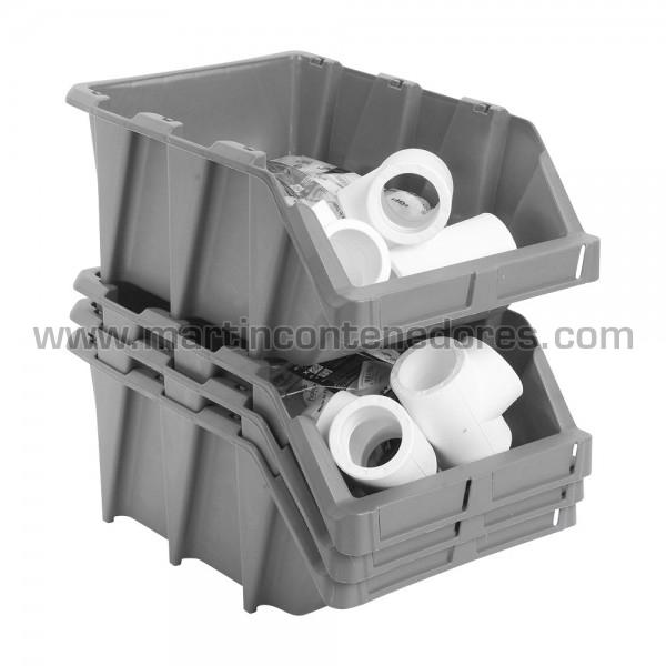 Bac à bec plastique empilable