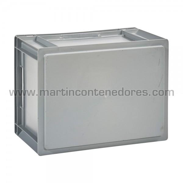 Caisse plastique hauteur utile 220 mm