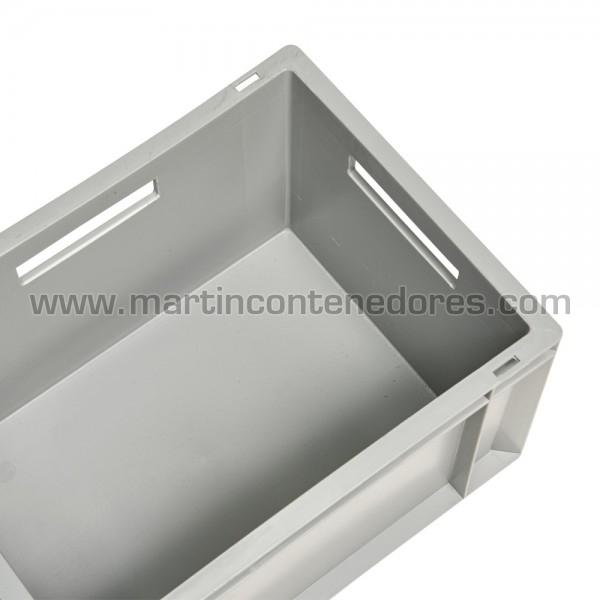 Caisse plastique poids à vide 1,20 kg