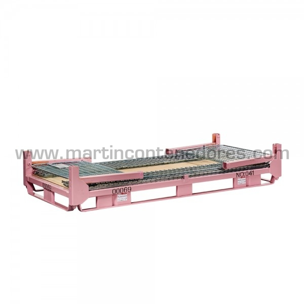 Caisse palette rabattable largeur 1150 mm