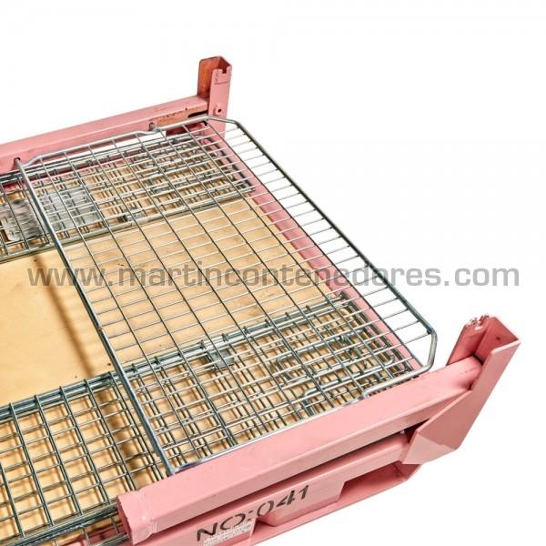 Caisse palette rabattable largeur Intérieure 1050 mm