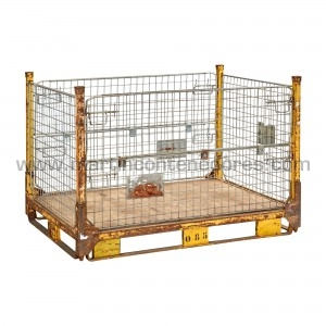 Foldable mesh stillages...
