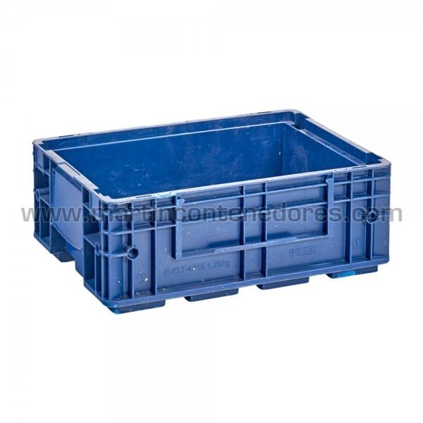 Bac plastique r-klt avec poignée fermée