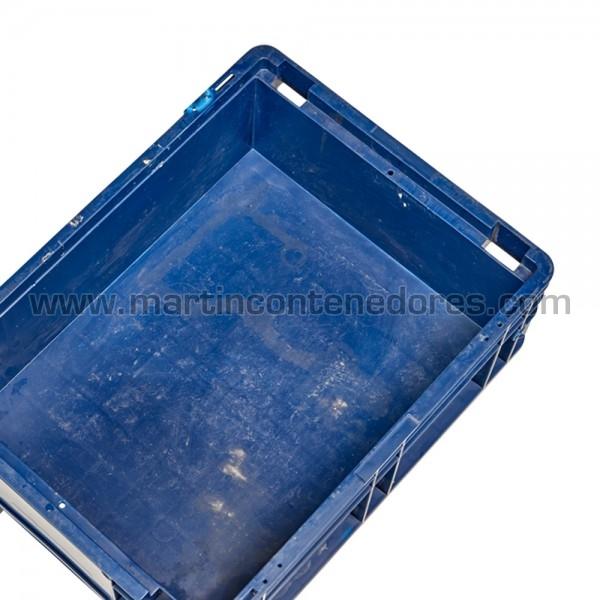 Cajas azul