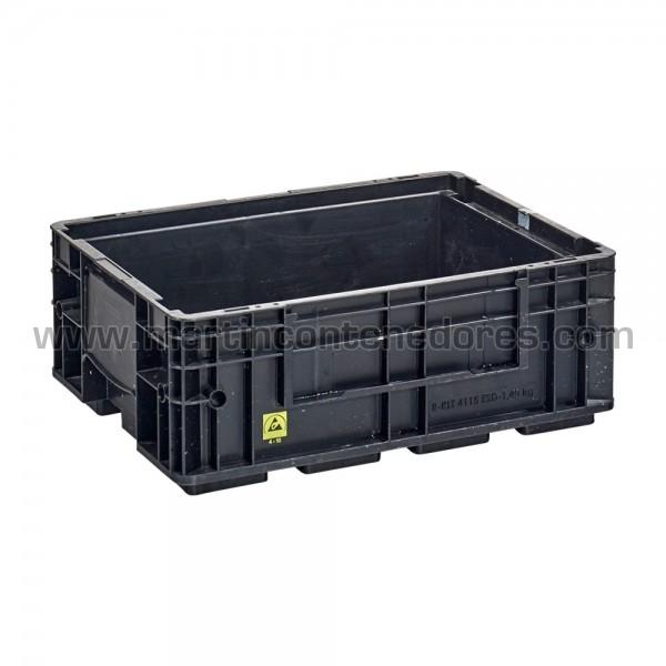 Caja plástica ESD