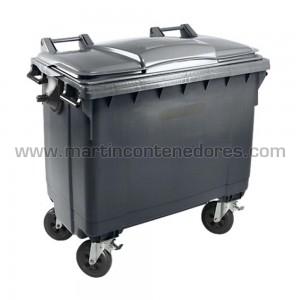 Conteneur pour déchets volume 770 litres