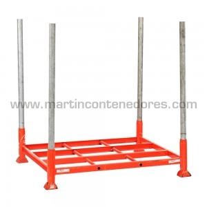 Rack métallique pour palettes longueur 1200 mm