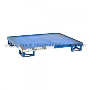 Palette tôlé capacité de charge en rack 1.000 kg