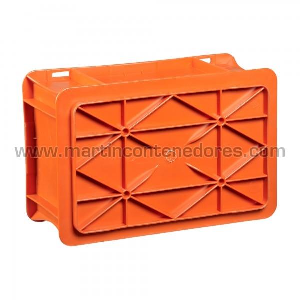Caja con base reforzada