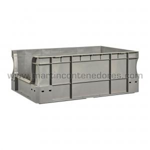 Plastic box 600x400x230/215 mm