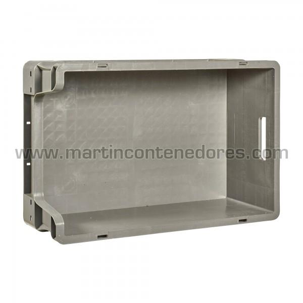 Bac plastique euronorm longueur intérieure 569 mm
