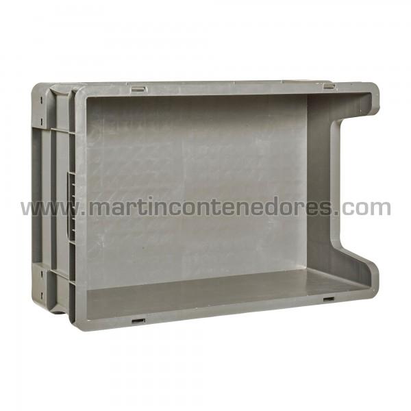 Bac plastique euronorm largeur intérieure 366 mm