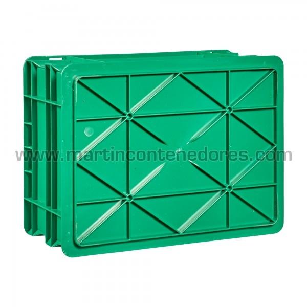 Caisse plastique euronorm avec base renforcé