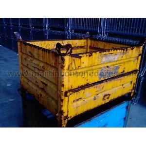Stacking box steel...