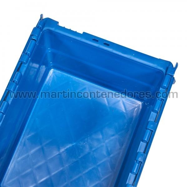 Bac de rangement plastique volume 16 litres