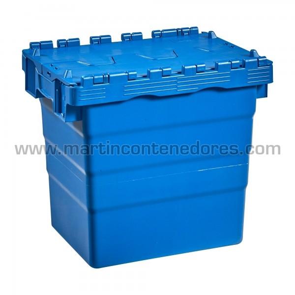 Caja nueva con tapa fabricado en polipropileno