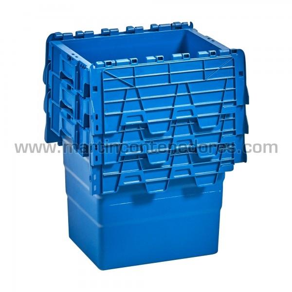 caja nueva color azul