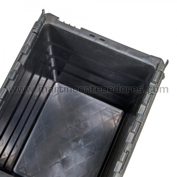 Caja  400x300x365/350 mm