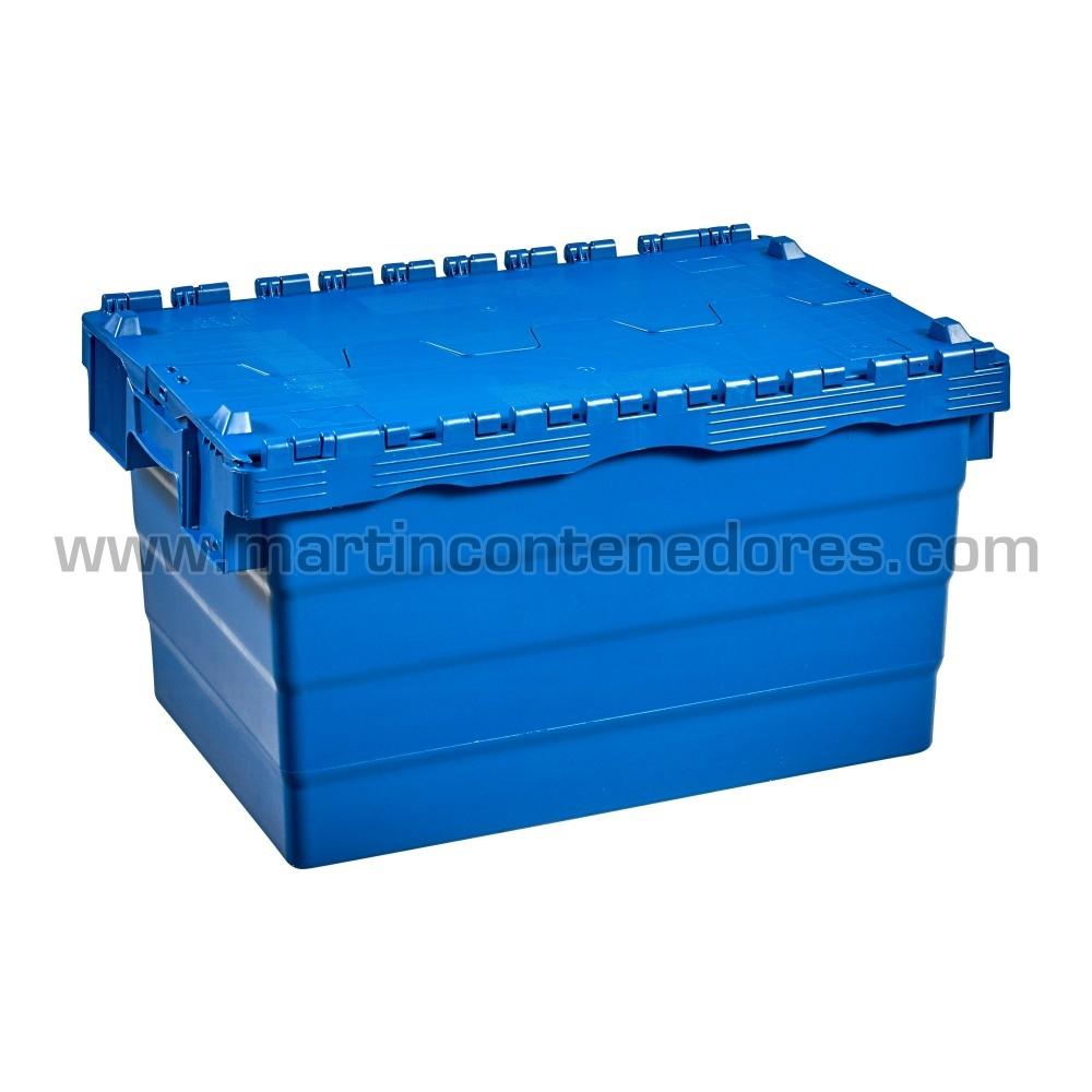 Cajas con 4 portaetiquetas y asas integradas ergonómicas